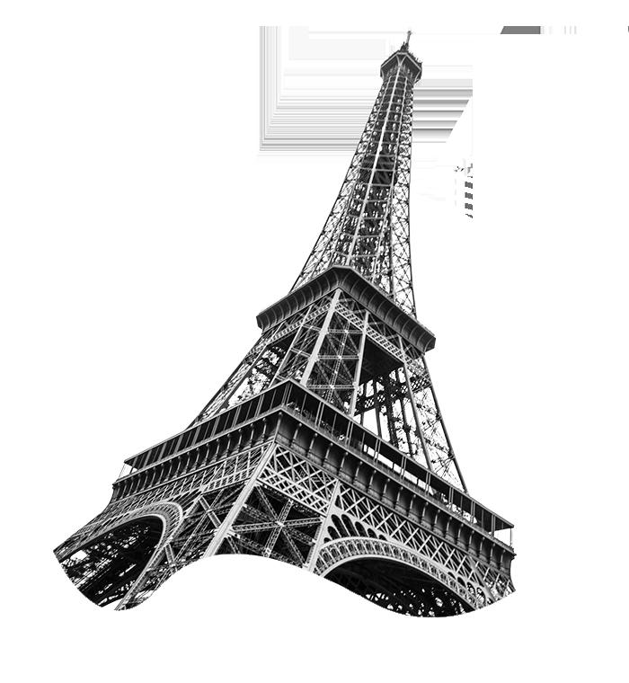 Eiffeil Tower Landing page illustration-1